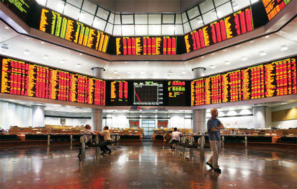 KLCI slips below 1,600 points level
